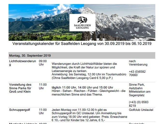 Webcam in Leogang | Livecam Leogang | Wetterkamera