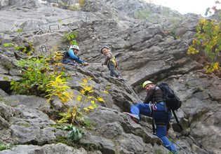 Via Ferrata Zahme Gams for beginners and children | © MOUNTAIN MYSTICS