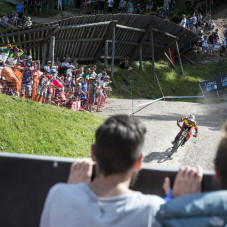 UCI MTB DHI Weltcup Finals and Out of Bounds Festival Leogang | © Stefan Voitl